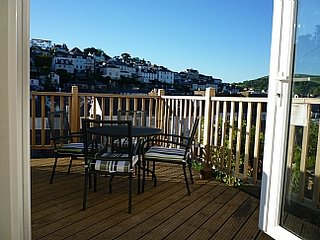 Dartmouth family cottage with views, garden and parking