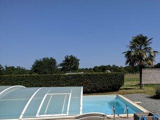 Gîte tout confort avec piscine