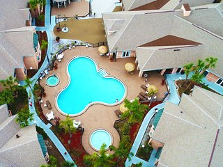 3 Room Celebration Disney Villa Pool-SPA-Golf