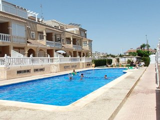 Seaview apartment ORANGE 900m from beach on Playa Flamenca Orihuela Costa Blanca