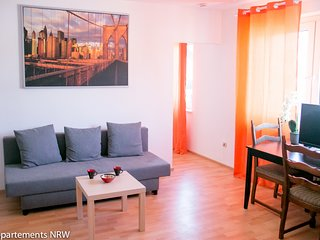 Fully furnished apartment near Dusseldorf in Moenchengladbach