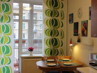 One bedroom apartment near metro station just 15 min from city center