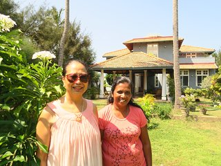 Boutique health-focused hotel on the beach in Sri Lanka, just north of Colombo.