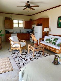 Luxury Ohana Studio Suite with full kitchen