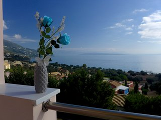 Sea View Cleo Villa | Barbati Bay View