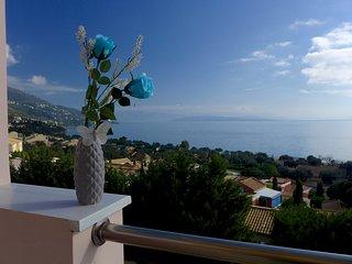 Sea View Cleo Villa | Barbati Bay View