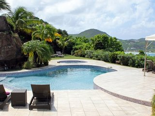 Villa Zen # Ocean View # Located in  Exquisite Pointe Milou with Private Pool
