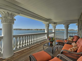 Wolcott Villa on Port Bay w/ Private Dock & Patio