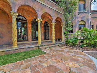 NEW! Gated Guesthouse at Historic Howey Mansion!