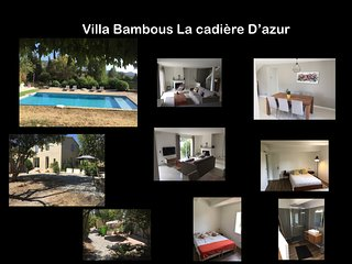 Villa Bambous à la cadière d'azur