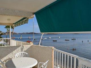 Estupendo Apartamento en 1a linea del Mar Menor