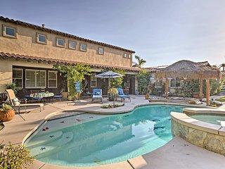 Luxury Indio Home w/Pool, Volleyball & Mini Golf!