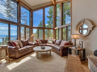 Tahoe Point of View - Amazing Lake Views at this 4BR w/ Hot Tub & HOA Beach