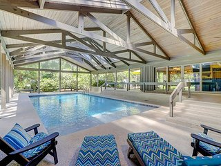 Luxe 5BR Home at Sea Pines Resort w/ Covered Outdoor Pool & Game Room