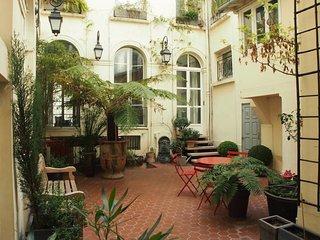 Appartement moderne dans le centre Parisien