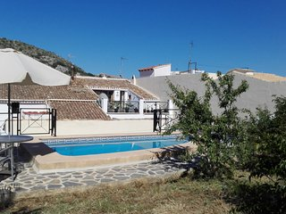 No.45....mountain village house with private pool. 30 mins to coast.