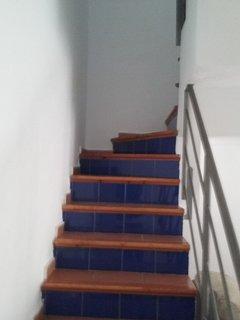 Escaleras para subir a la planta de arriba