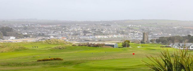 West Cornwall Golf Club as viewed from Overlinks