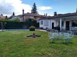 Magnífica casa chalet con piscina, bonitas vistas, wifi y aire acondicionado