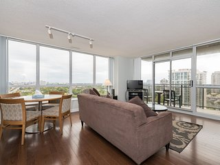 Fully Furnished Executive 1BR + Den in Upscale Yonge and Sheppard Area - 2105