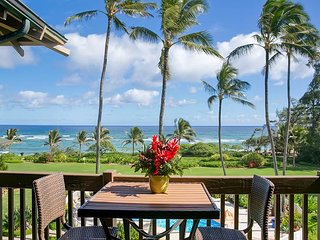 Kaha Lani Resort #308, Ocean View, Steps to Beach, Free Wifi & Parking!