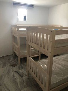 4th bedroom with 2 bunk beds