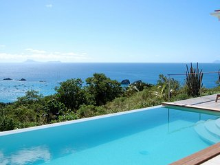 Villa Cactus  # Ocean View :: Located in  Fabulous Colombier with Private Pool