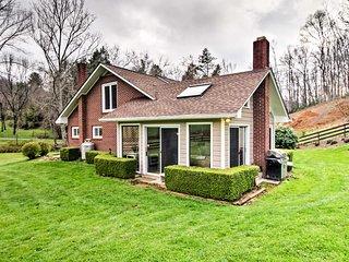 Scenic Mtn Home by Chestnut Ridge, near Asheville!