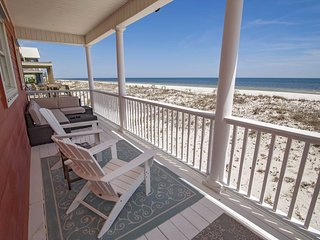Gulf Front ~ Gorgeous View ~ By The C Beach House ~ Prickett Properties