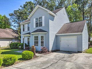 NEW! Centrally Located Mt. Pleasant Home w/ Pond
