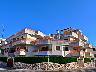 Atico con piscina y parking Playa Pau Pi Oliva