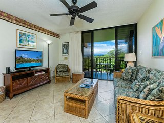 Secluded+Casual Suite w/WiFi, Kitchen, Lanai, Flat Screen–Kamaole Sands 4311