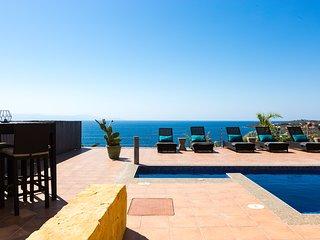 Yellow Dream Villa 3 · Luxury Villa above Kalathas bay!