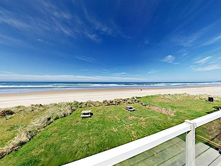 Newly Furnished 1BR w/ Private Beach, Patio, Picnic Area & Ocean Views