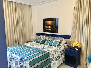 Apartamento de luxo no Iberostate, finamente decorado, todo climatizado!