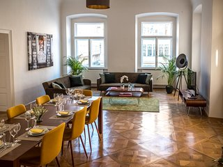 Luxury in Old Baroque Building for 12 with a view of St. Stephen's Cathedral