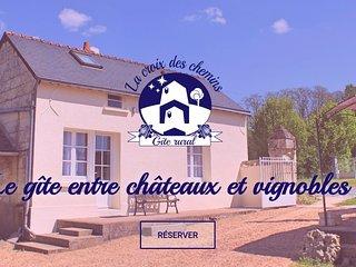 Gite a Allonnes (49), proche Saumur - 4 a 6 couchages + lit bebe
