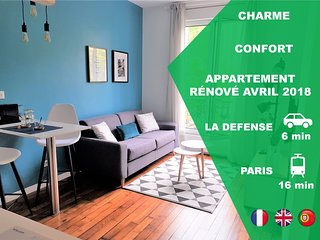 ★ Magnifique/Beautifull APPARTEMENT ★ proche/near LA DEFENSE & PARIS