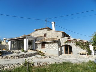 Finca Iris - Ferienhaus für 6 Personen an der Küste von Benissa!