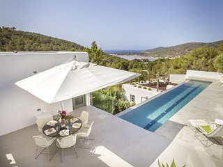 Villa with infinity pool and stunning views