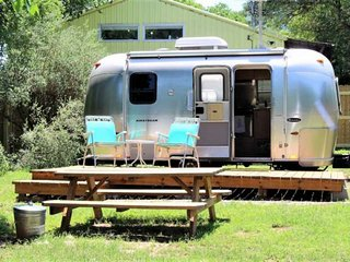 Tiny Home, Airstream-Style! You'll Love This Eclectic Airstream in Downtown Aust