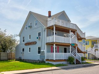 NEW LISTING! Entire triplex w/3 decks & ocean view-two blocks to beach/boardwalk