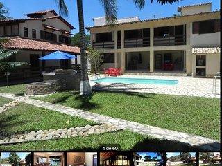 Casa Clube - Para Grupos e Familias (12 Pessoas) Praia a Pe;