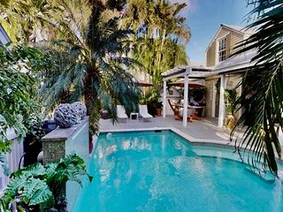 Relax Key West Style in this 3 Bedroom 3 Bath Pool Home in the Tropics