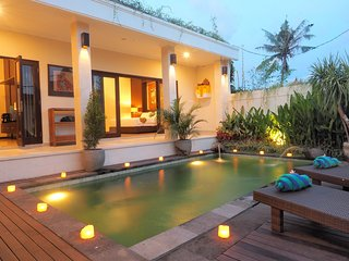 Modern&Clean 2BR Private Pool Villa Near Seminyak-Canggu