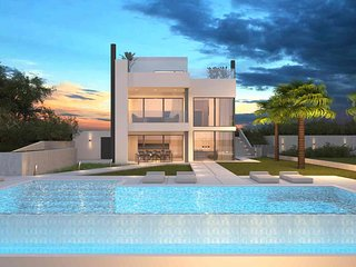 Luxurious Stylish Villa PS Deluxe with Heated Pool and Jacuzzi