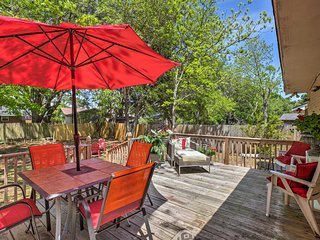 NEW! Charming Charleston Home -15 Min to Downtown!