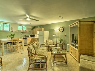 NEW! 1BR Papaikou Apartment Mins to Downtown Hilo!