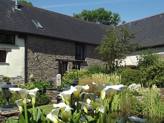 Stargaze at Moonseeker, a peaceful barn conversion near Dartmoor. Pets welcome
