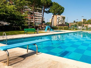 4 bedroom Apartment in Sant Vicenc de Montalt, Catalonia, Spain : ref 5556796